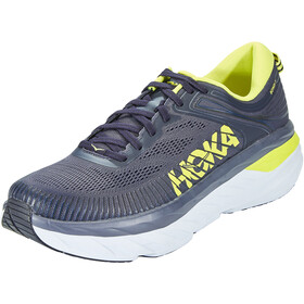 Hoka One One Bondi 7 Scarpe Uomo, odyssey grey/deep well